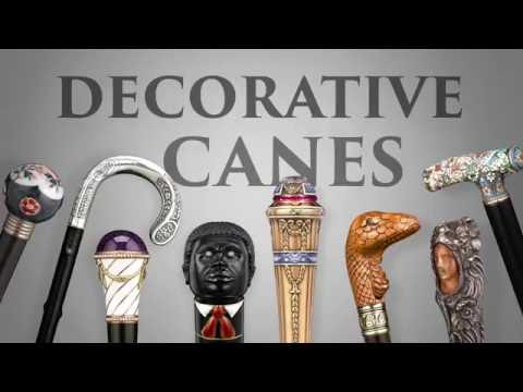 Decorative Canes from M.S. Rau Antiques