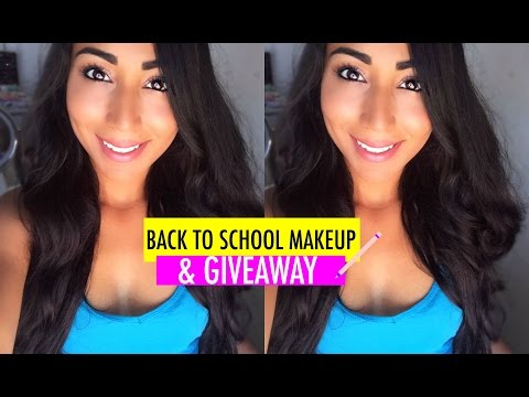 Easy School Makeup Look, #Imbacktoschool