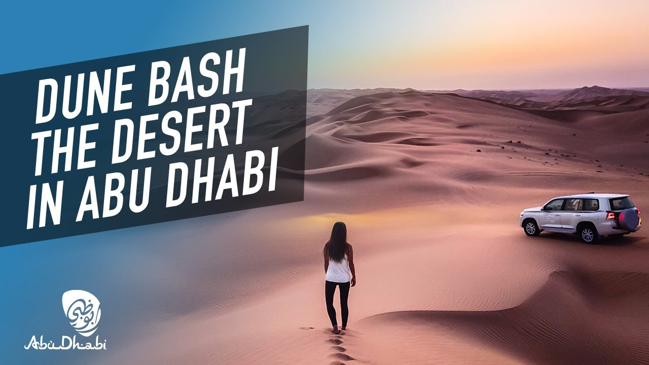 Enjoy off-road driving in an adventure travel city! | 360 video | Visit Abu Dhabi
