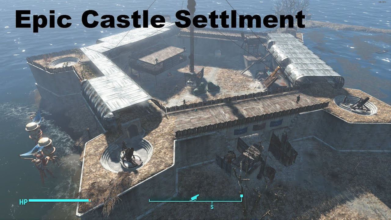 Fallout 4 castle base 2 0 youtube for Fallout 4 bedroom ideas