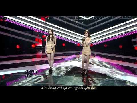 [Vietsub] 110904 Davichi - Love oh love