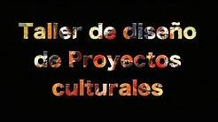 Taller de Diseño de Proyectos Culturales el 29 y 30 de octubre en la CCE