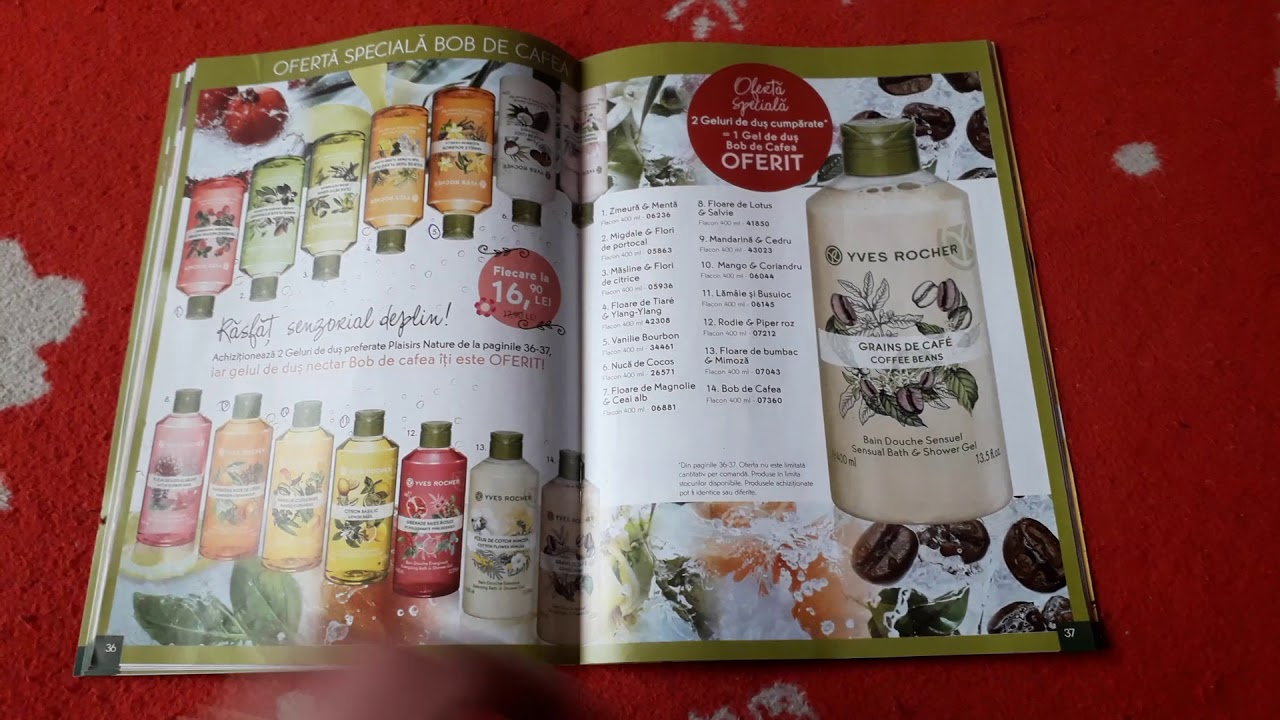 Yves Rocher Brochure