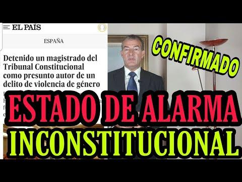 ¡BOMBAZO! EL TRIBUNAL CONSTITUCIONAL VA A DECLARAR INCONSTITUCIONAL EL ESTADO DE ALARMA.