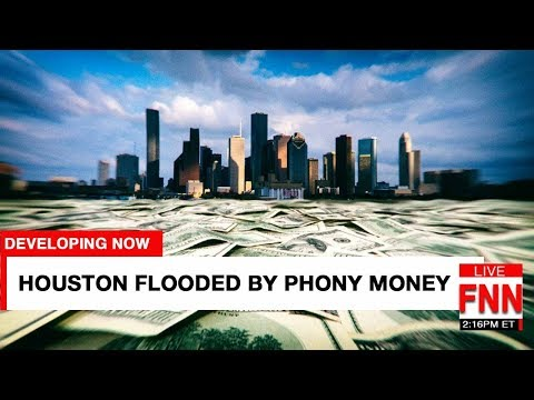 Media Focuses on Hurricane As Bankers Flood World With Phony Money