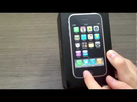iPhone 3G Unboxing