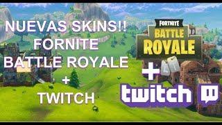 [Fortnite] Nuevas skins!! Pack Twitch Prime