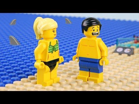 Lego Shark Attack - Deserted island