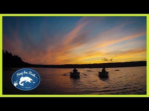 Die Brüder-Challenge - Raubfischangeln auf dem Stechlinsee 2017