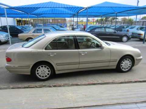 2000 mercedes benz e class e280 elegance a facelift auto for sale on auto trader south africa. Black Bedroom Furniture Sets. Home Design Ideas