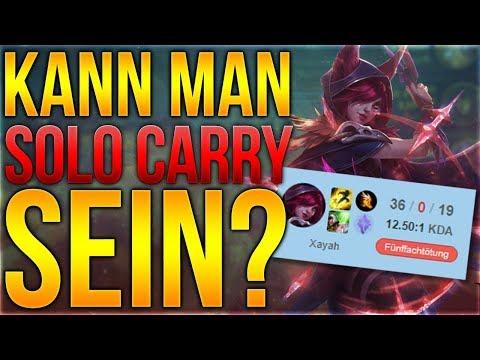Kann man ein Solo Carry sein? [League of Legends] [Deutsch / German]