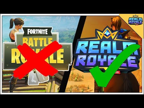 8 Reason Why Realm Royale Is Better Than Fortnite