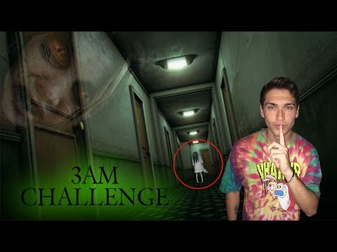 DO NOT SNEAK IN HAUNTED HOTEL AT 3AM //  3AM CHALLENGE AT ABANDONED HOTEL
