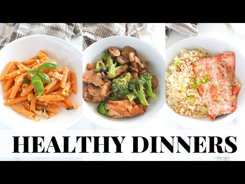 QUICK Healthy Dinner Recipes: tasty, easy, gluten free meals