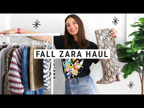 Fall Zara Try-On Haul 2018!! (+ lots of other places)