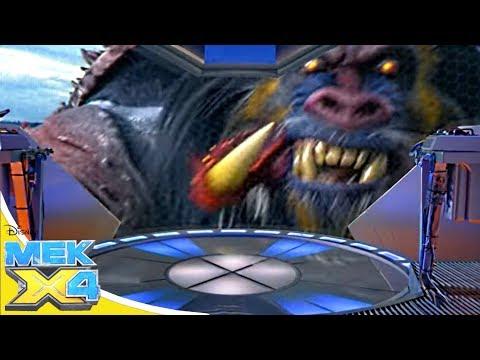 Мек-X4 Сезон 1 серия 04 - Откроем сердце монстра! | Молодёжный сериал Disney