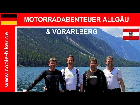 Sommertour 2015 Allgäu / Vorarlberg - Motorradtour Coole-Biker - Motorcycle Tour Germany / Austria