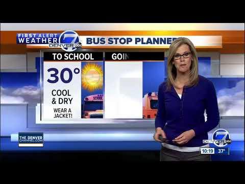Near 70 degrees tomorrow in Denver