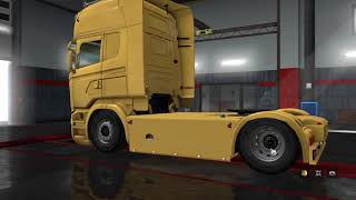(Ets2 1.31)Pimp My Truck #6 ★[Scania Rjl 2.2.3+Custom Interior]★