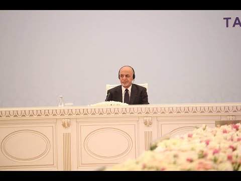 HE President Ashraf Ghani's Speech at the Tashkent Conference on Afghanistan. March 26, 2018