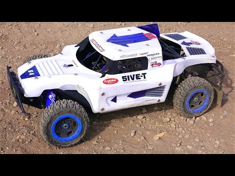 RC ADVENTURES - LARGE SCALE RC 1/5 Gas POWER! Custom Losi 5T 4x4 Overview