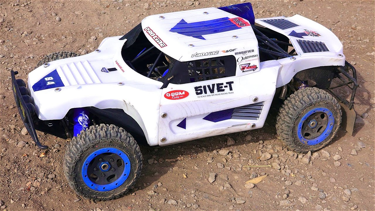 RC ADVENTURES LARGE SCALE RC 1 5 Gas POWER Custom Losi 5T 4x4 Overview