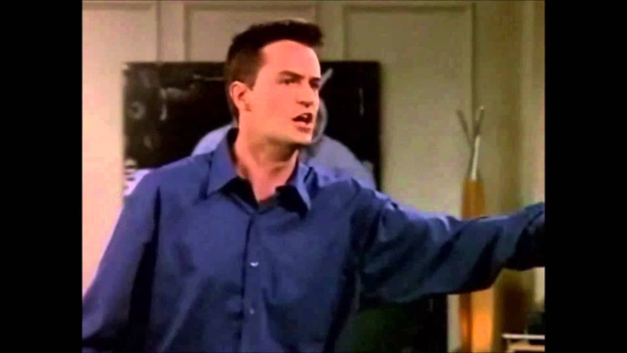 Chandler Bing Desperate For Love
