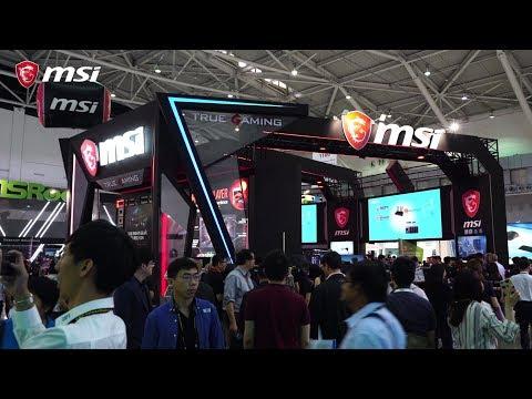 MSI auf der COMPUTEX 2018 – Opening
