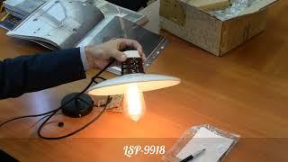 Обзор подвесного светильника Lussole Loft Provence LSP 9918