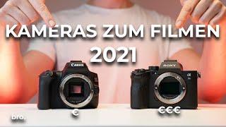 Die perfekte Kamera zum Filmen 2021 für jedes Budget!   Der Broduction Videografie Kurs