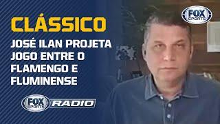 """""""O FLUMINENSE VAI TER QUE JOGAR MAIS DO QUE JOGOU NA QUARTA"""": José Ilan projeta clássico"""