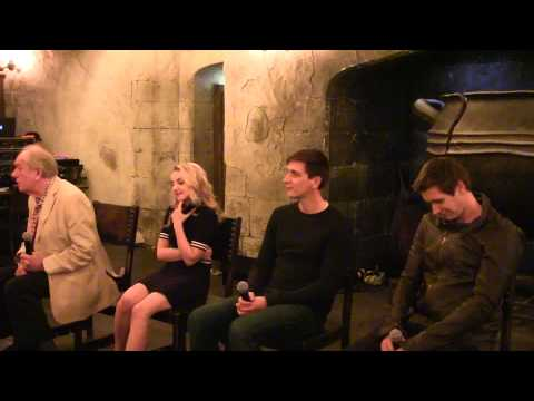 Q&A with Michael Gambon and other Harry Potter cast members