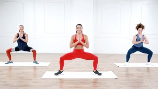 30-Minute No-Equipment Cardio & HIIT Workout With Charlee Atkins
