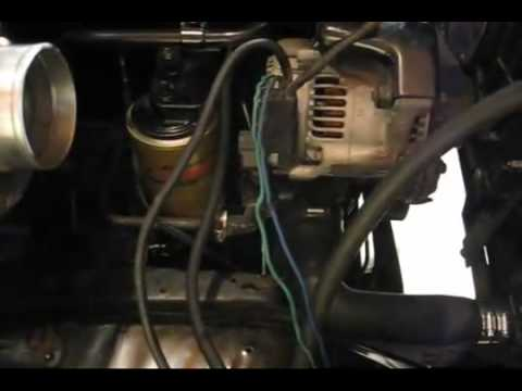 chevy cummins project part 10 wiring - youtube 6 pin 12 volt wire harness