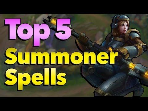 Top 5 Most Overpowered Summoner Spells in League of Legends History