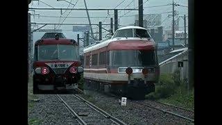 LSE7000形更新車出場甲種輸送 豊川にて 想い出の鉄道シーン477