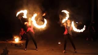 Соланж - огненное и пиротехническое шоу на свадьбу Саратов