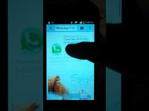 HOW TO DOWNLOAD WHATSAPP ON ANDROID DEVICES WITHOUT GOOGLE PLAY STORE