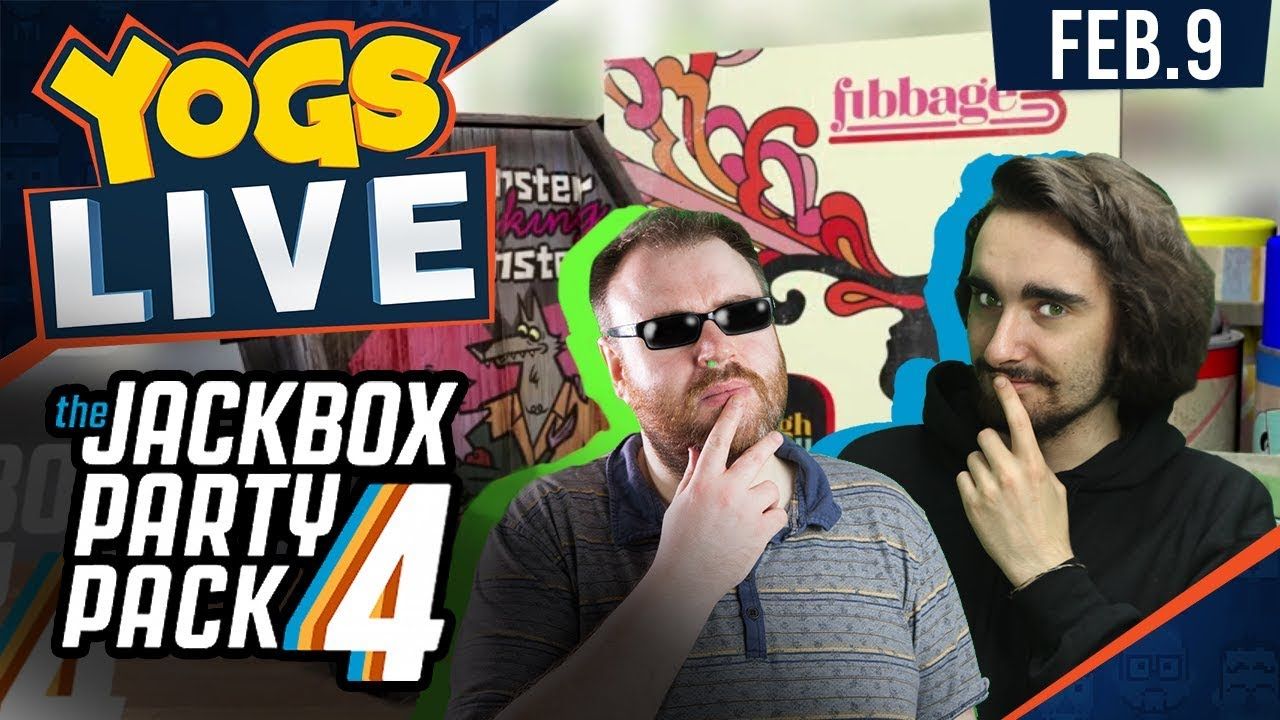 Yogscast Sofa & Jackbox Games w/ The Chilluminati - 9th ...