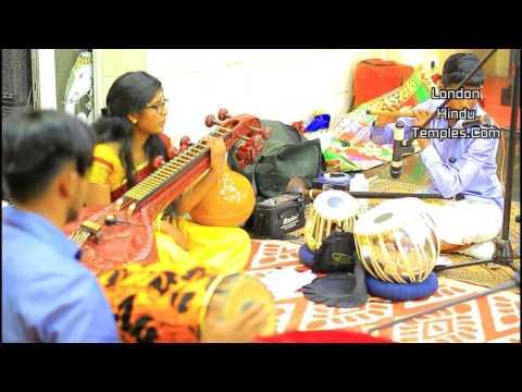 Veena, Flute & Nadeswara performances (By Naatha Pranothyam)