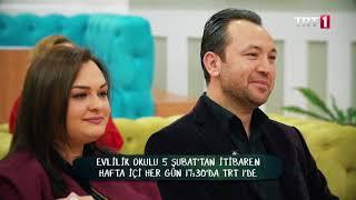 Evlilik Okulu Hafta İçi Hergün 14:30'da TRT1 ekranlarında