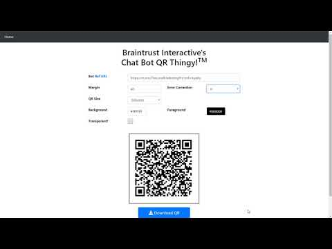 How To Generate QR Codes For Facebook Messenger Bots