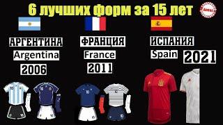 Как менялась форма лучших сборных От сборной Франции до Аргентины Футбол