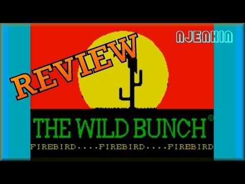 The Wild Bunch - on the ZX Spectrum 48K !  with Commentary