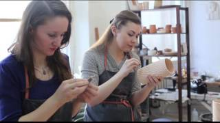 Мастер-класс по керамике  Наташи Беловой-Вебер. Ceramic's master-class of Natasha Belova-Veber