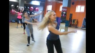Урок танца для развития женских энергий, гибкость и пластика тела, imfitness Анна Корбан