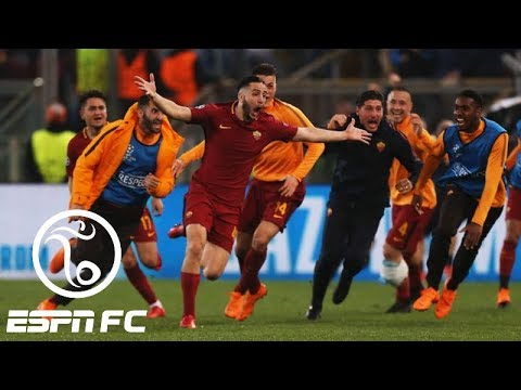 Barcelona crashes out of Champions League with stunning 3-0 loss to Roma | ESPN FC