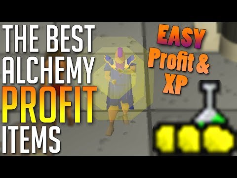 Best Items To Alch For PROFIT In OSRS