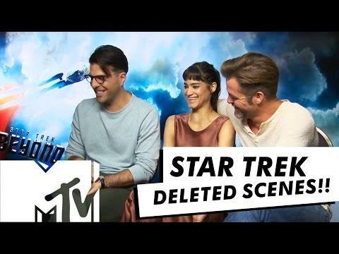 Star Trek Beyond Deleted Scenes - Cast Reveal Faves! | MTV