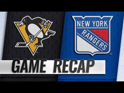Sports Wrap with Ron Potesta - Penguins Flatten Rangers